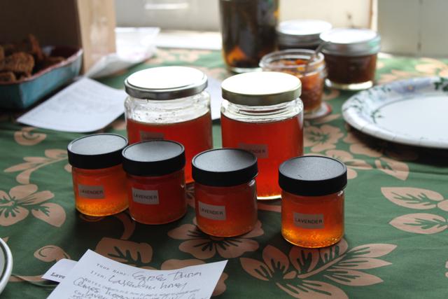 lavender-infused honey