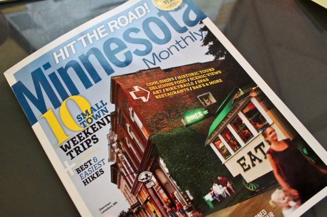 The cover of the August 2011 issue Minnesota Monthly, which features an article about the MPLS Swappers